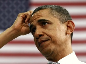 obama bashful 300x224 - Looking at Obama's campaign emails...